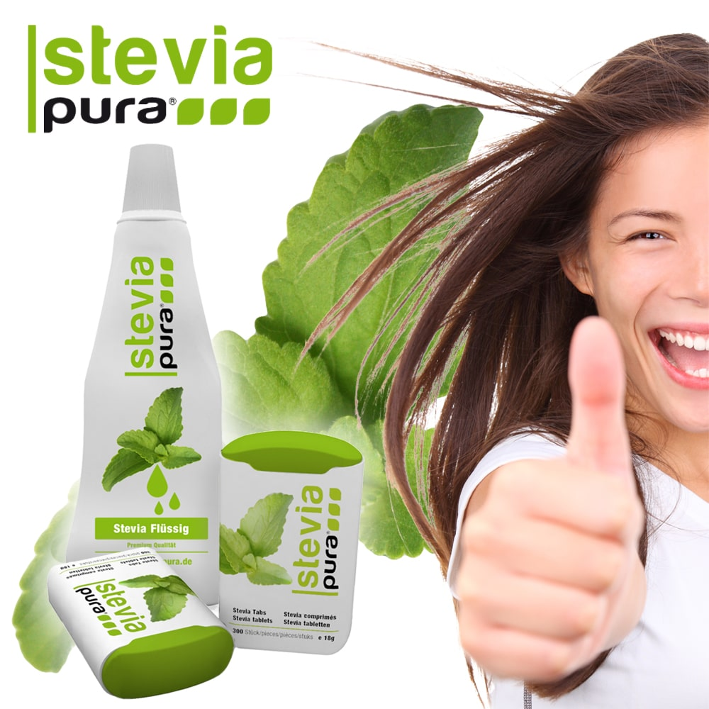 Stevia Süßungsmittel sind jetzt auch in Europa zugelassen.