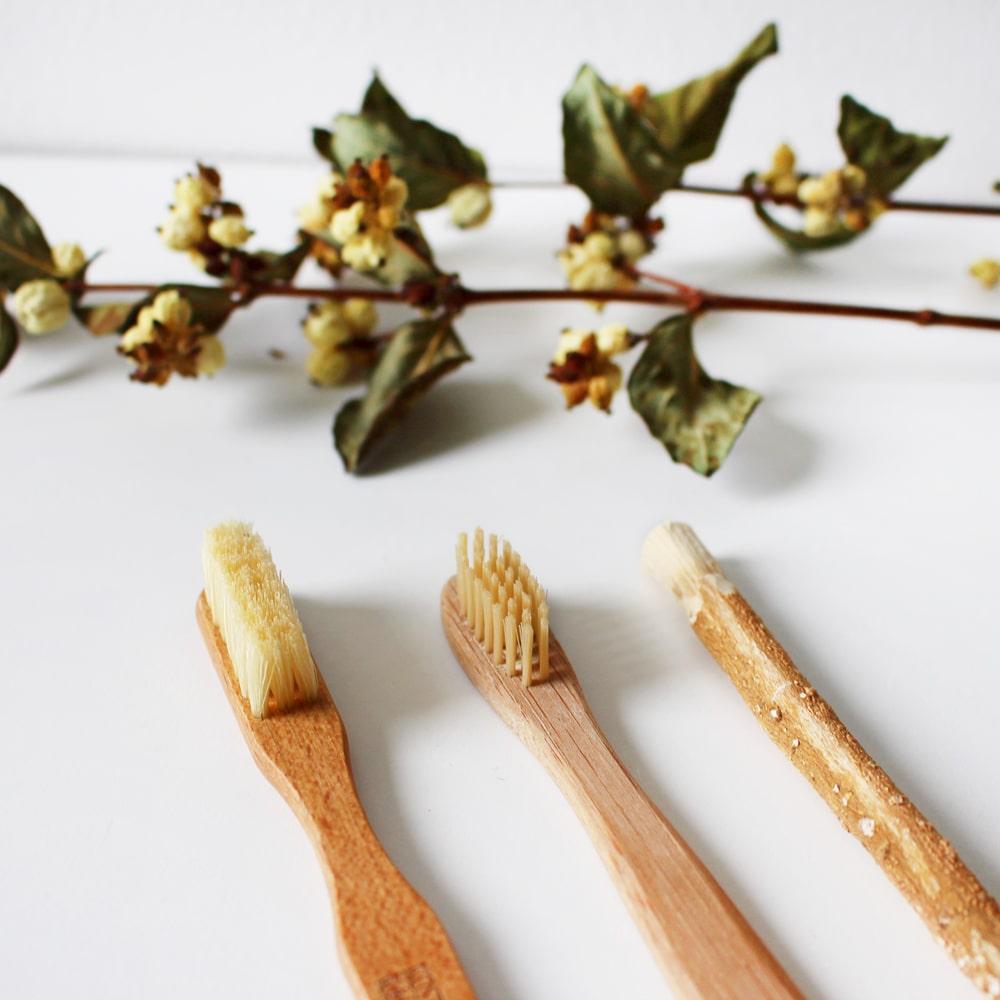 Bambus Zahnbürsten für die natürliche Zahnpflege