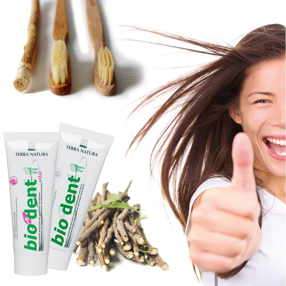 Fluoride-Free toothpaste | Biodent | Terranatura natural cosmetics.
