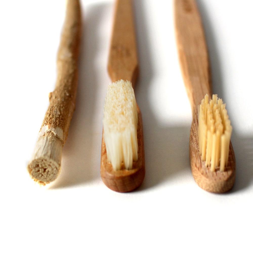 Natürliche Zahnpflege ohne Fluorid | Bambus Zahnbürsten