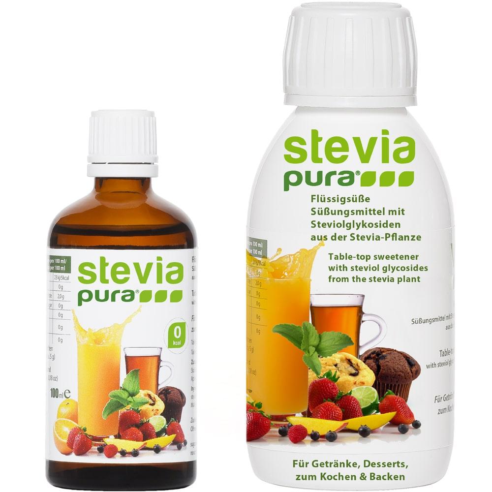 Stevia Flüssigsüße 50ml steviapura Markenqualität.