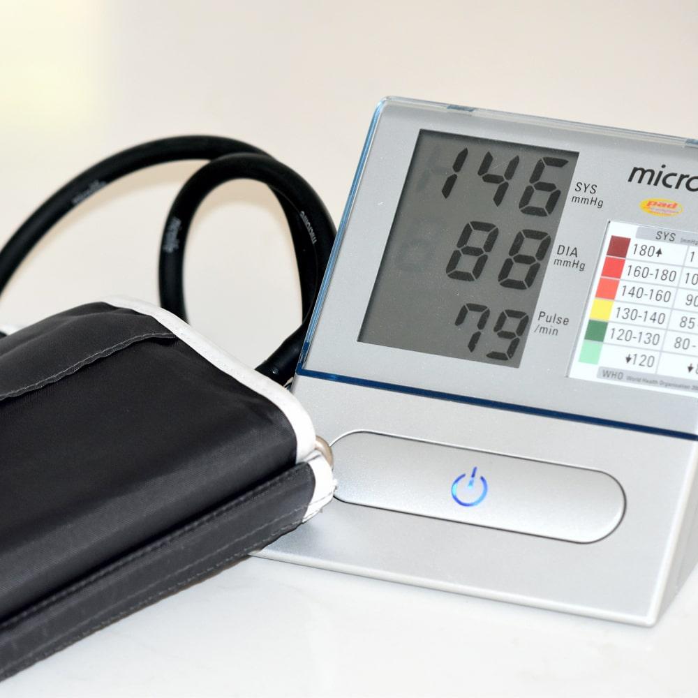 Diabetes Blutdruckkontrolle Blutdruckmessgerät