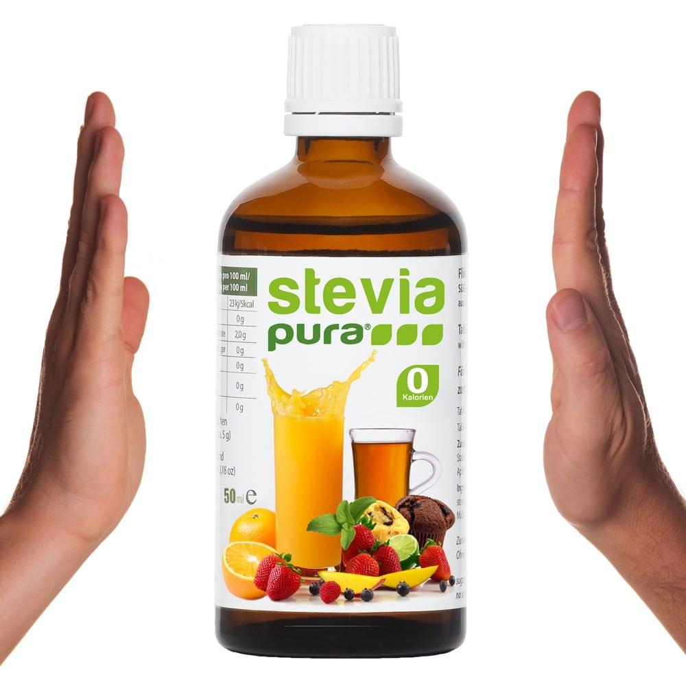 Achten Sie beim Kauf von Stevia im Supermarkt auf die Inhaltstoffe!