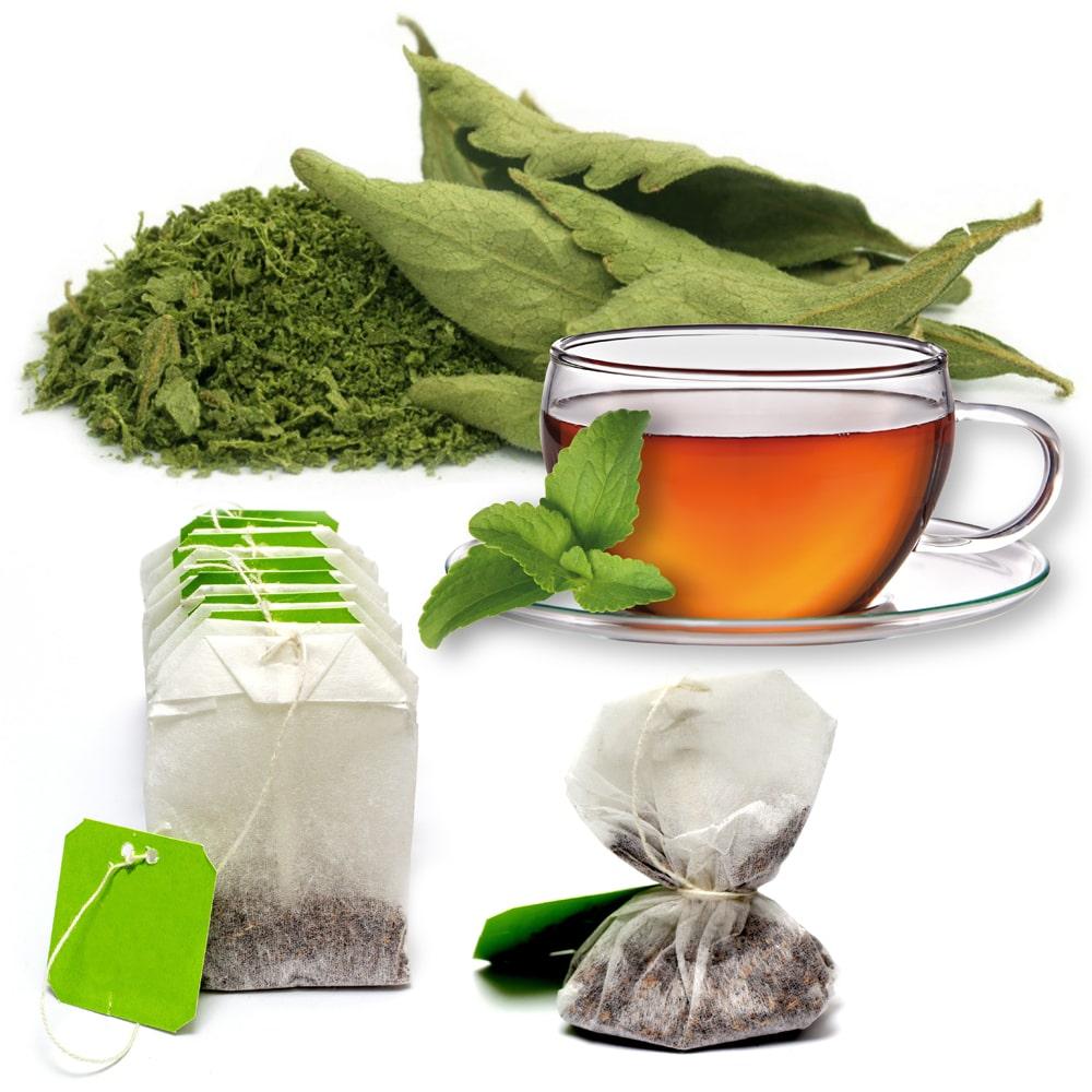 Stevia zum Süßen von Tee